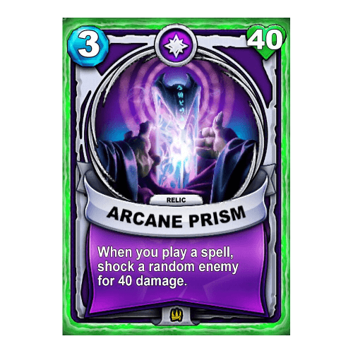 Magic Relic - Arcane Prism