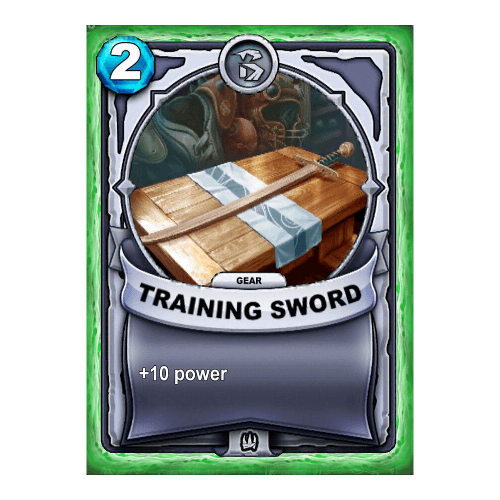 Non-Elemental Gear - Training Sword