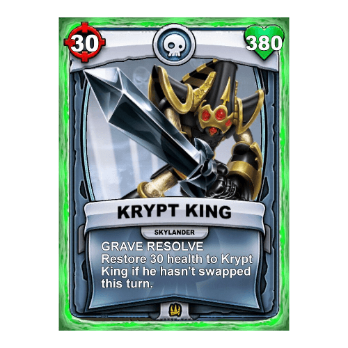Undead Skylander - Krypt King