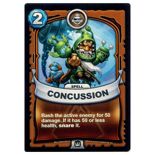 Earth Spell - Concussion