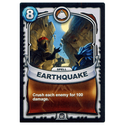 Earth Spell - Earthquake