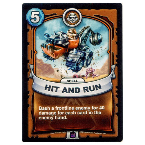 Earth Spell - Hit and Run