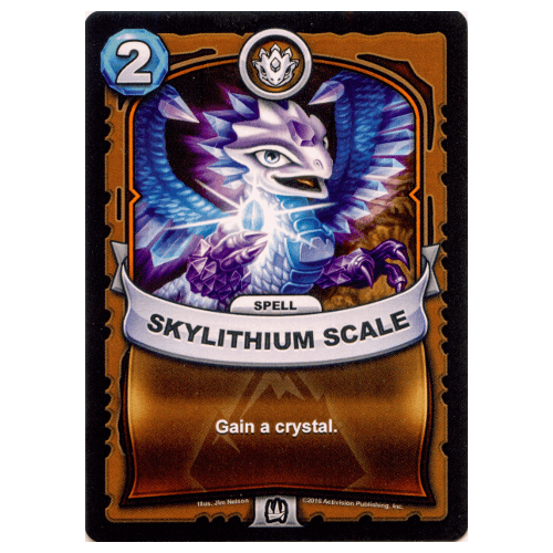 Earth Spell - Skylithium Scale