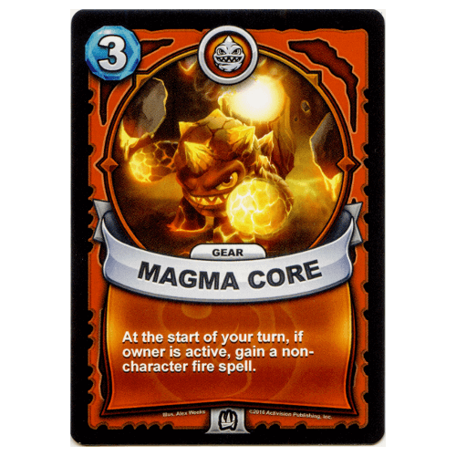 Fire Gear - Magma Core