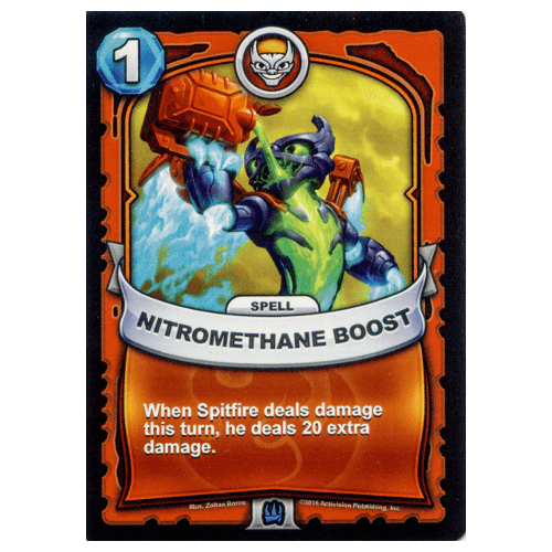 Fire Spell - Nitromethane Boost