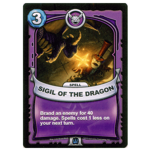 Magic Spell - Sigil of the Dragon