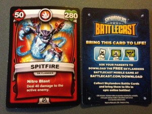 McDonald's Battlecast Cards