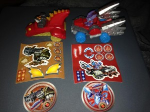 McDonald's SuperChargers Toys