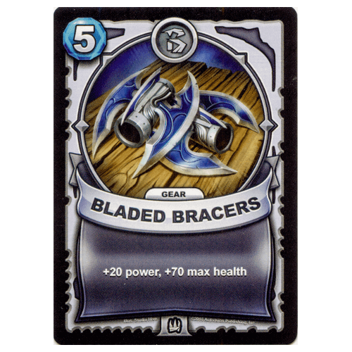 Non-Elemental Gear - Bladed Bracers