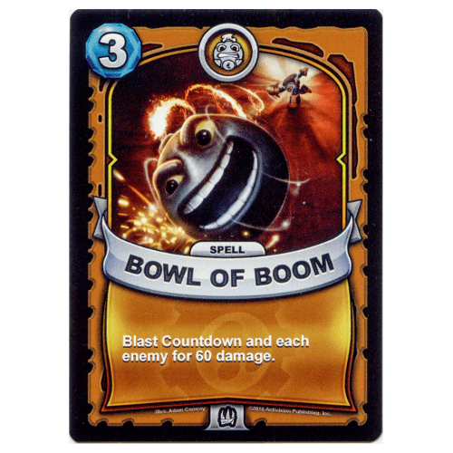Tech Spell - Bowl of Boom